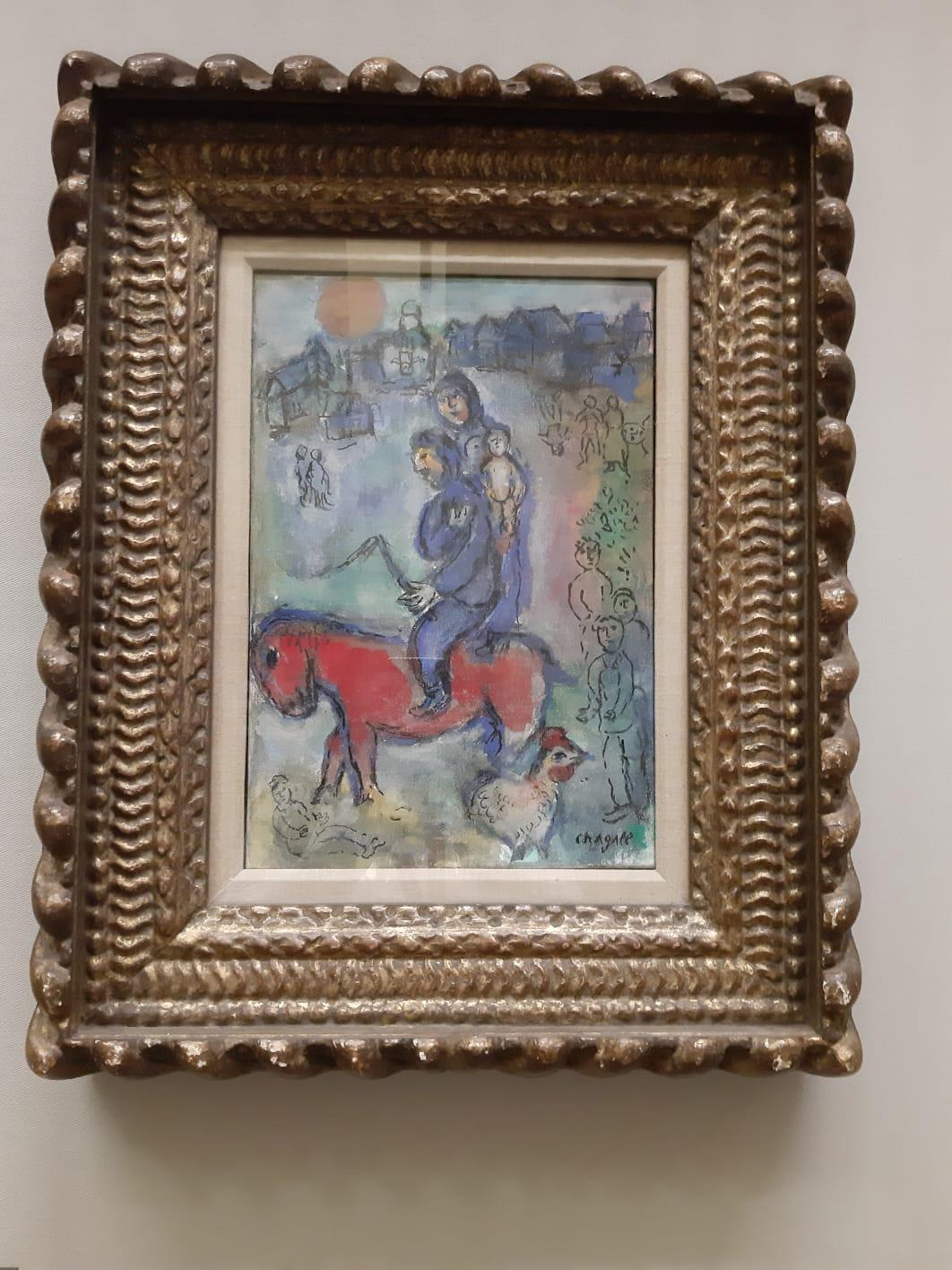 """""""Solo l'amore mi interessa"""", Chagall riempie di sogno la Napoli dei Decumani"""