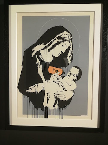 La mostra di Banksy a Osimo, from the street to the museum