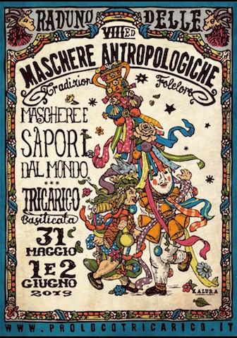 Tricarico e il Raduno di Maschere Antropologiche