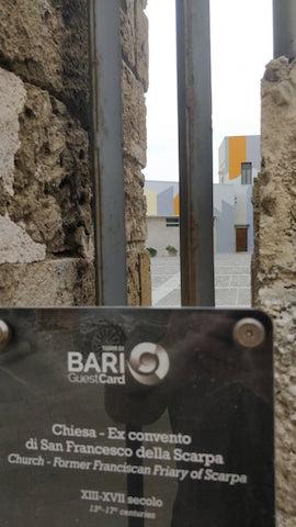 Le geometrie di David Tremlett a Bari