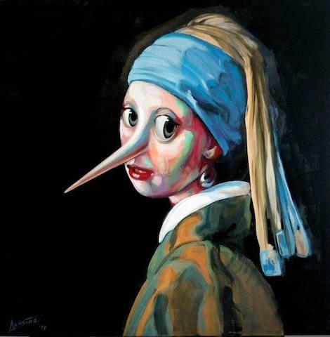 Gianfranco Anastasi, l'artista che dipinge i falsi d'autore pinocchieschi