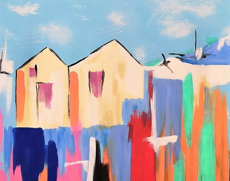 Bazar 19, il desiderio espressionista nei paesaggi di Fidelia Clemente