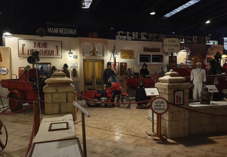 A Manfredonia l'incredibile Museo dei Pompieri e della Croce Rossa più grande al mondo
