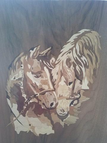 Tarsie lignee contemporanee, il legno che parla con Prencipe