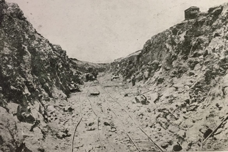 Canale Acquarotta a Lesina, alla ricerca delle tecniche di costruzione degli anni Venti