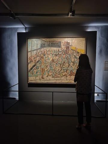 Fragilità umana e verità nella mostra sulla Scuola di Londra al Chiostro del Bramante