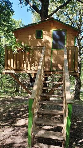 Daunia Avventura, crescono le presenze e i pernottamenti nelle case sugli alberi del bosco di Biccari
