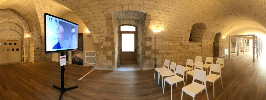 MUSEUM, lo spazio circonda l'opera a Santa Scolastica