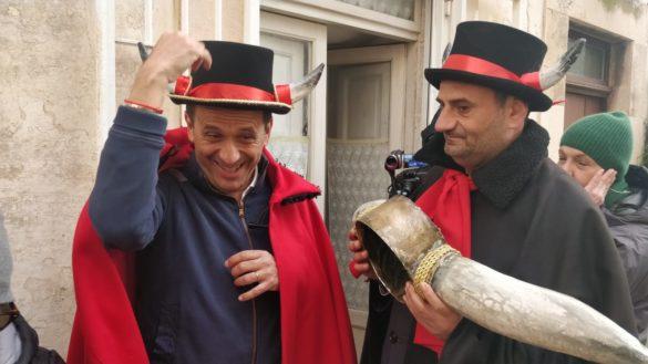 Uccio De Santis è il Gran Cornuto 2020 di Putignano
