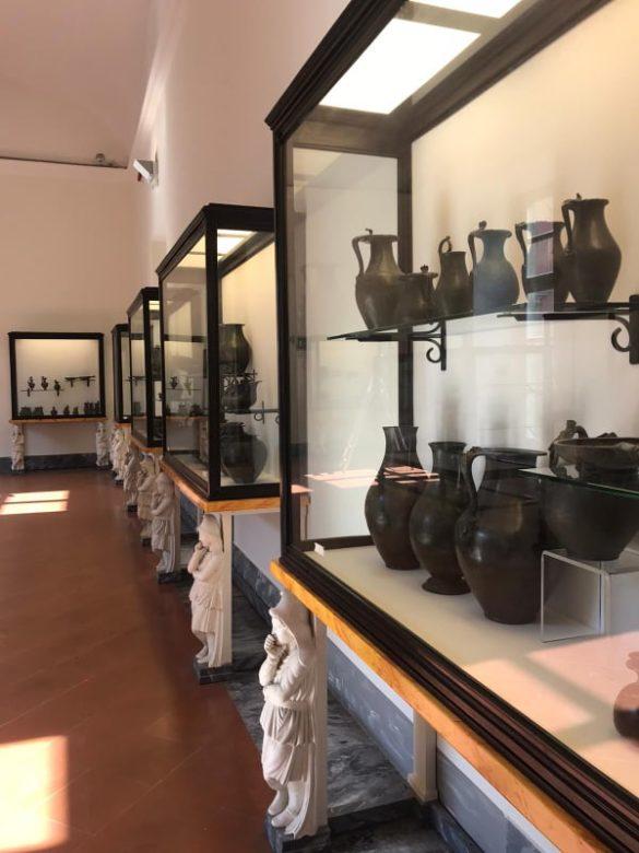 MANN: riapre al pubblico la collezione di oggetti quotidiani vesuviani con la patera