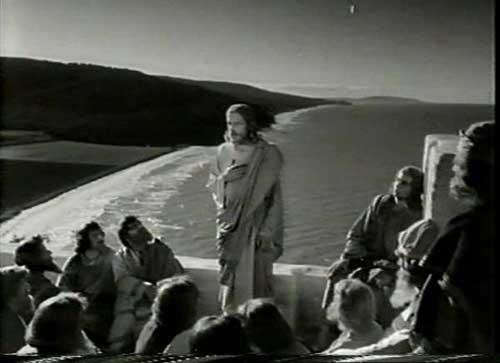 """""""Il figlio dell'uomo"""", dai tableaux vivants al film garganico sulla Passione di Cristo del 1953"""