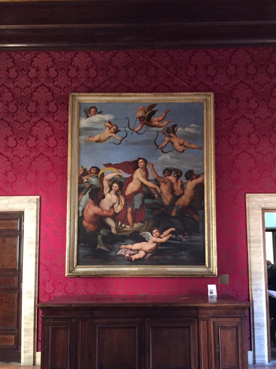 L'omaggio dell'Accademia di San Luca a Raffaello